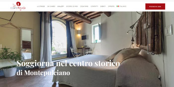 La Corte Segreta Website