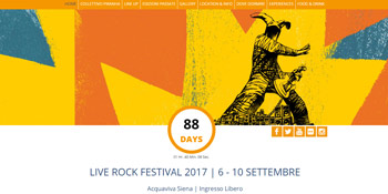 Live Rock Festival Website