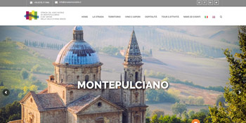 Strada del Vino Nobile Website