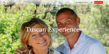 Tuscan Experience Website